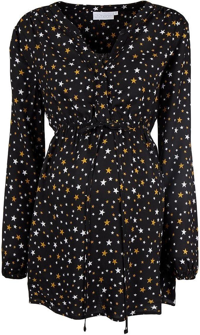 2in1 Stillshirt Umstandsshirt Top Stilltop Stillbluse Umstandsmode Diana II 7120