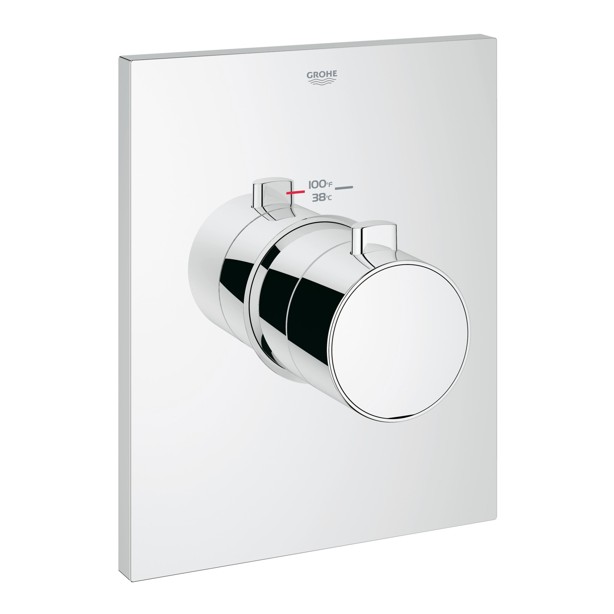Grotherm F Single-Handle Thermostatic Trim With Control Module