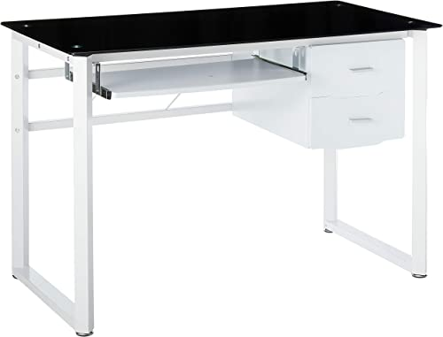 Christopher Knight Home Reeve Tempered Glass Computer Desk