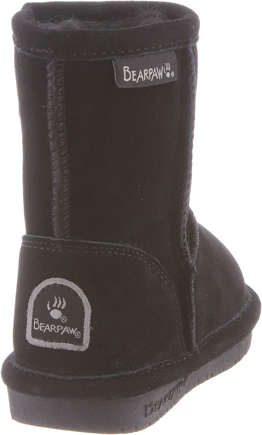 BEARPAW Kids Emma Toddler Zipper Mid Calf Boot