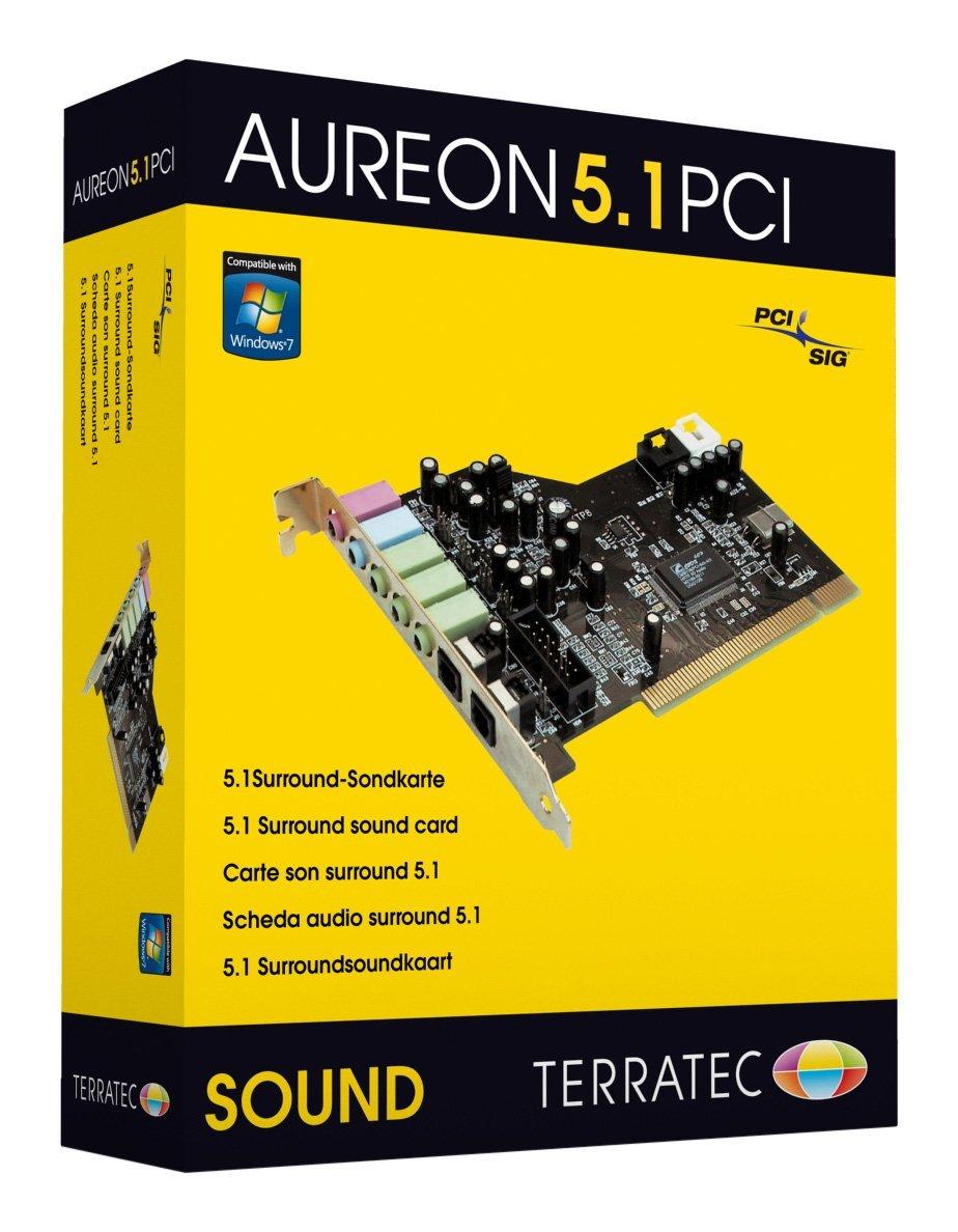 terratec aureon 5.1 fun sound card pci driver