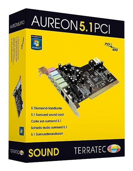 aureon 5.1 pci control panel