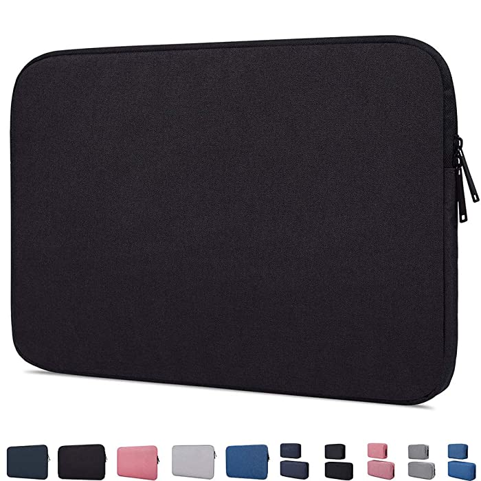 "15.6 Inch Laptop Sleeve Bag Protective Case Compatible with Acer Aspire/Acer Predator Helios 300,ASUS VivoBook F510UA 15.6,LG gram 15.6,HP Pavilion X360 15.6"", Lenovo MSI 15.6"" Chromebook Notebook Bag"