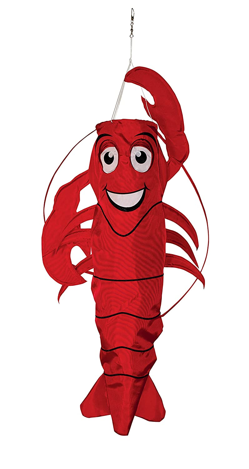 In the Breeze 3D Lobster Windsock - Hanging Outdoor Decoration 5010