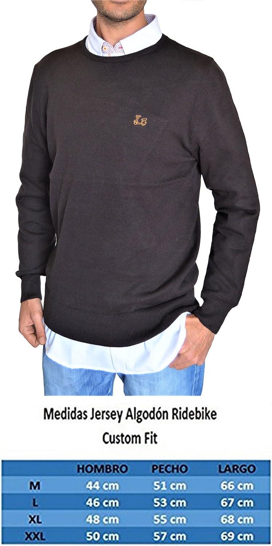 Color Caf/é custom fit Jersey de cuello redondo Ridebike la vespa 152 100/% algod/ón