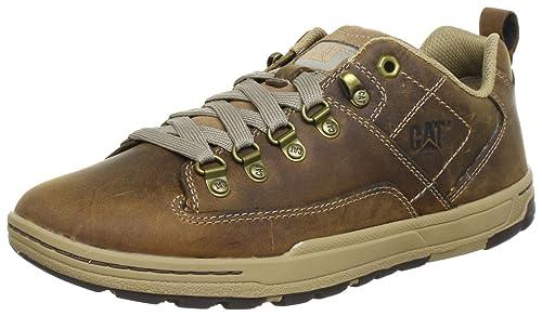 Cat Stringate Brash P716234Scarpe Basse Footwear UomoBeige shdCtQrx