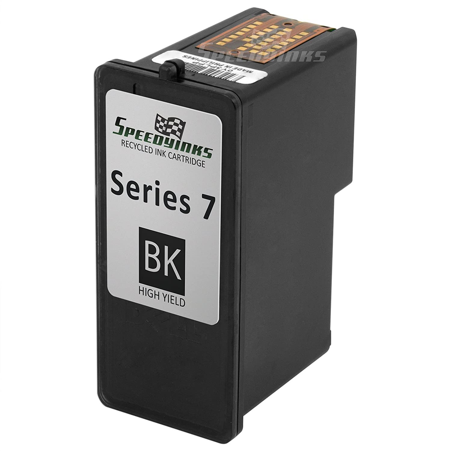 SpeedyInks Remanufactured Dell CH883 / GR274 Series 7 High Yield Black Ink Cartridge For Dell Photo All-in-One