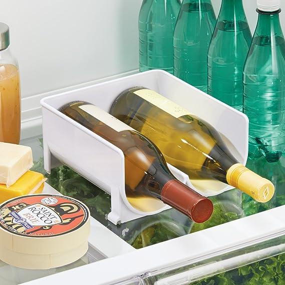 InterDesign Fridge/Freeze Binz Botellero de vino para 2 botellas ...