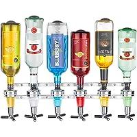 AAlight Wall Mounted 6-station Liquor Bar Butler Wine Dispenser Machine Drinking Pourer Home Bar Tools For Beer Soda Coke Fizzy Soda