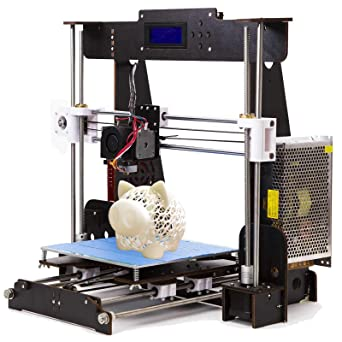 Printed Think A8 3d impresora montar, DIY Kit con 1.75 mm ...