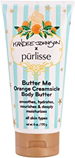 product image for purlisse x Kandee Johnson - Butter Me Body Butter Orange Creamsicle Moisturizing Luxury Spa Treatment, Kandee-Luscious Body Collection, 6 Oz