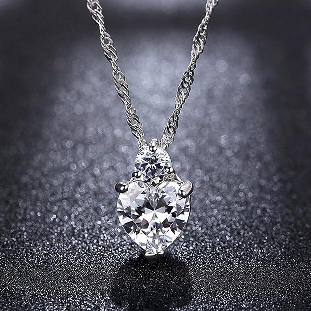 collier + boucles d/'oreilles YXYP Parure de bijoux