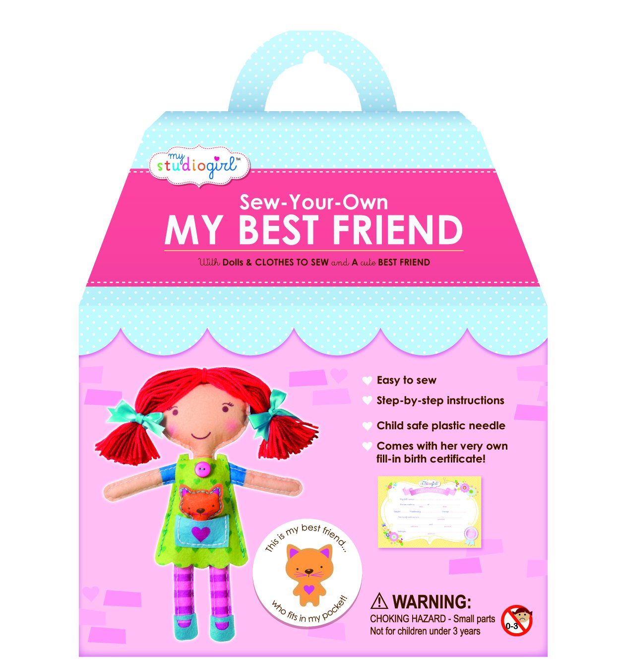 My Studio Girl Sew Your Own Best Friend ROT Hair