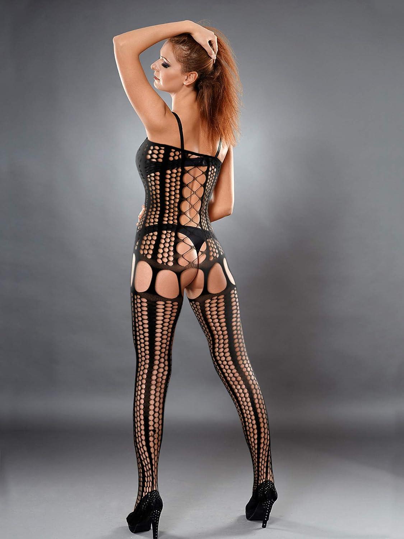 6 pezzi lingerie calze a rete a rete cava a rete per donne e ragazze