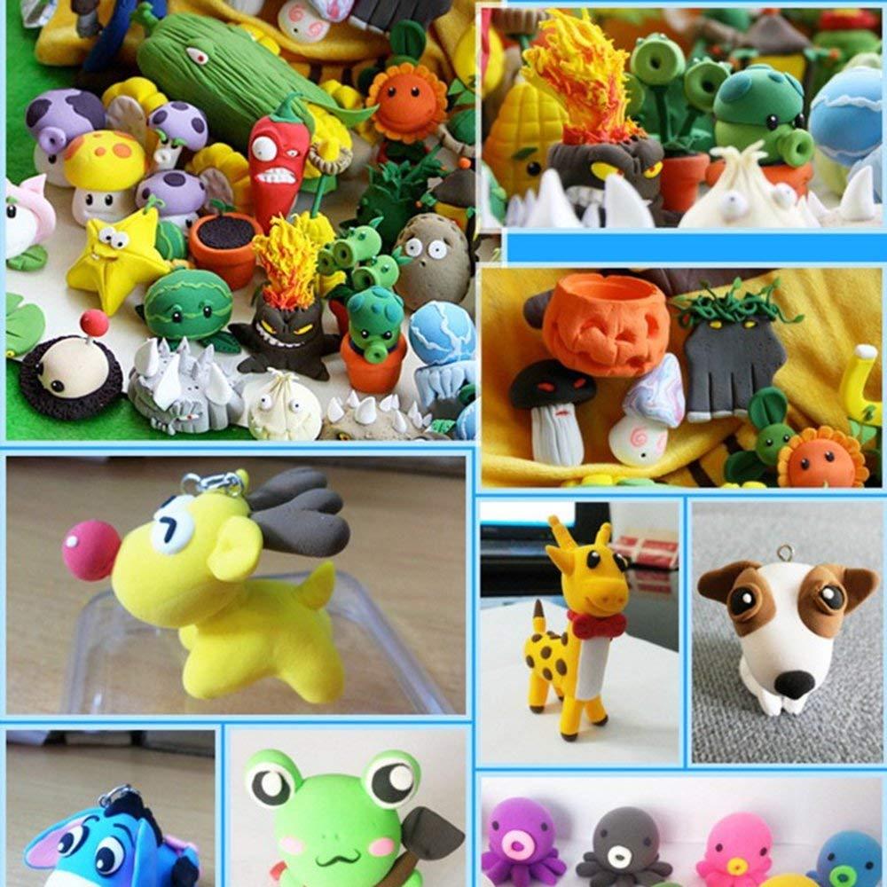 RoadRoma DIY Fake Sprinkles Decoration for Slime Filler DIY Slime Supplies Simulation
