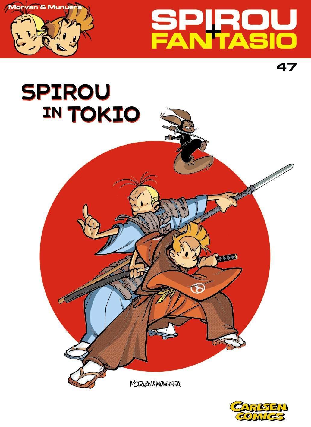 Spirou Und Fantasio 47  Spirou In Tokio  47
