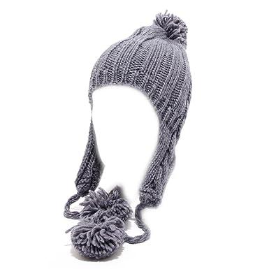 96687 cuffia donna CYCLE LANA ALPACA viola grigio hat woman  UNICA   Amazon. it  Abbigliamento 6a8c4d039cd3