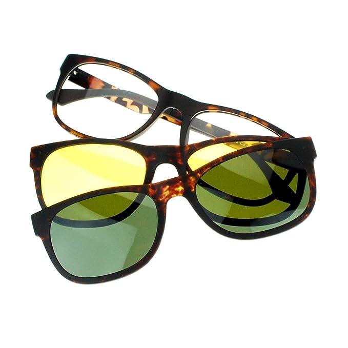 Amazon.com: SA106 magnético – Gafas Antiglare conducción ...
