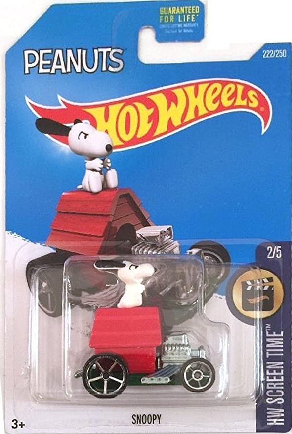 Hot Wheels Screen Time Snoopy 14//250