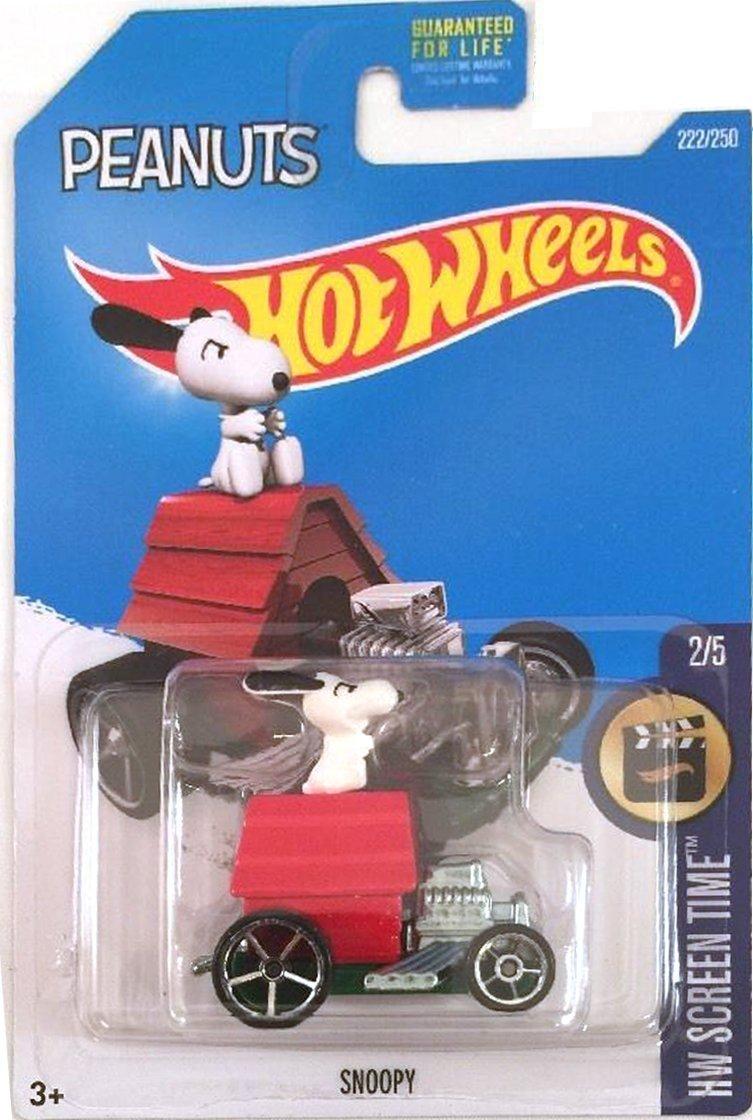 Hot Wheels, 2016 HW Screen Time, Peanuts Snoopy 222/250
