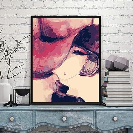 shbghy DIY Pintura Digital Hermoso Retrato Avatar Pintado a Mano ...