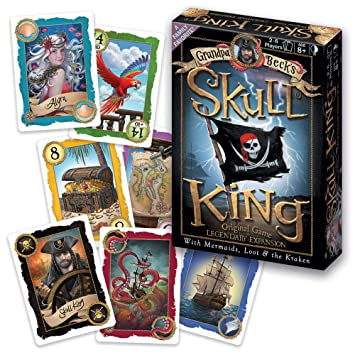 Grandpa Becks Skull King Card Game + Legendary Expansion - Family-Friendly Trick-Taking Game - Enjoyed by Kids, Teens, & Adults - by The Creators of ...