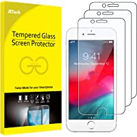 JETech 3-Pack Screen Protector for Apple iPhone 8 Plus, iPhone 7 Plus, iPhone 6s/6 Plus