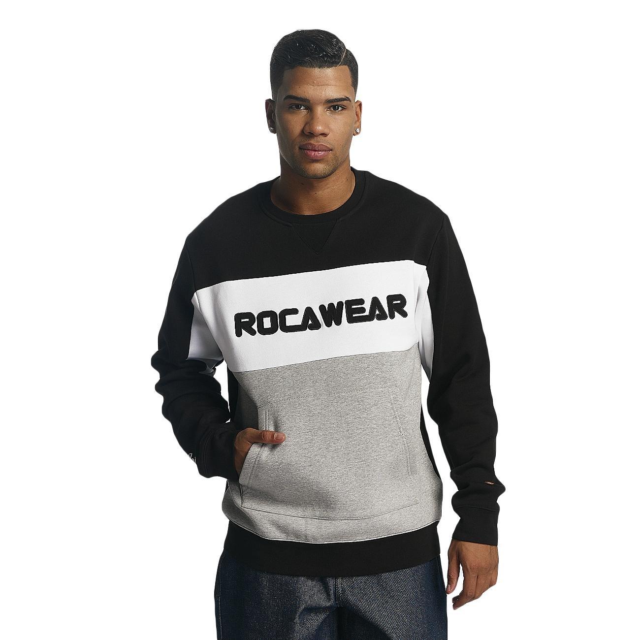 Rocawear Männer Sport-Pullover Ilias in schwarz