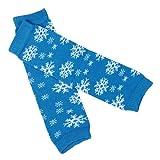 DDLBiz Girls Boys Cute Lovelyl Kneepad Socks Leg Warmer with Snow Printed