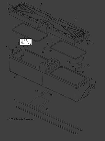 Polaris 2010-2018 RGR 800 500 900 RZR 570 Bearing Needle 3514609 New OEM