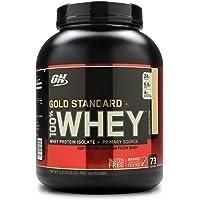 Optimum Nutrition (ON) Gold Standard 100% Whey Protein Powder - 5 lbs, 2.27 kg (Vanilla Ice Cream)