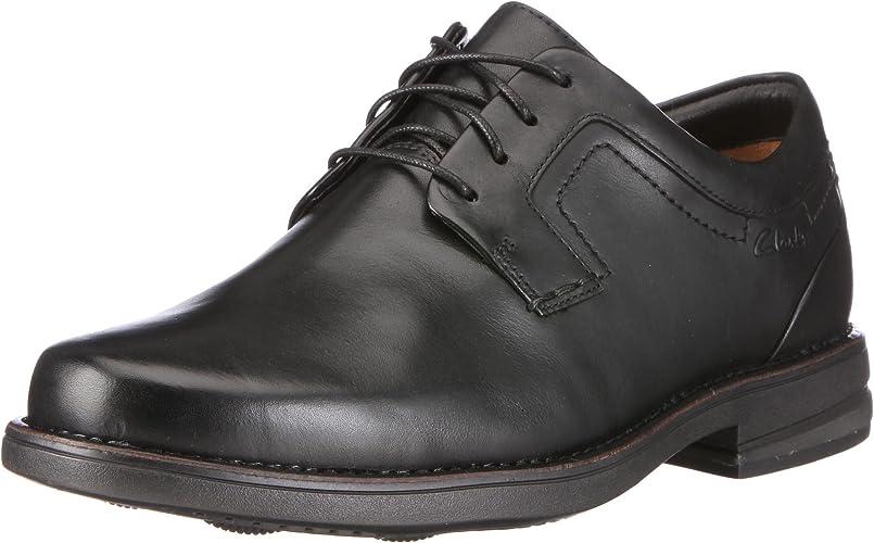 Suburbio Engreído alojamiento  Clarks Carter Air 20341228, Men's Lace-Up Shoes - Black, 46 EU:  Amazon.co.uk: Shoes & Bags