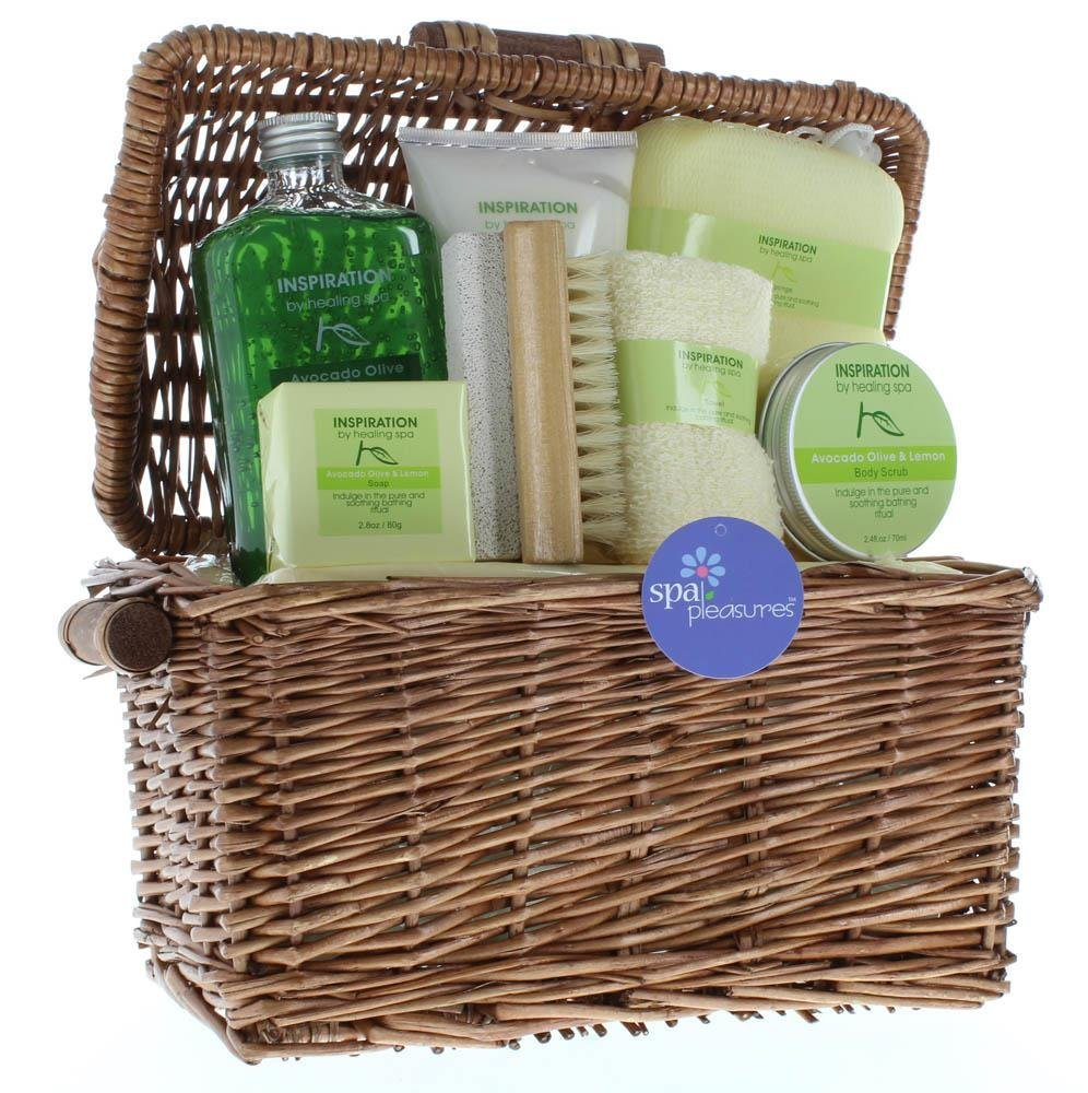 Amazon Holiday Gift Baskets Happy Birthday For Mom Basket Healing Spa Bath Beauty