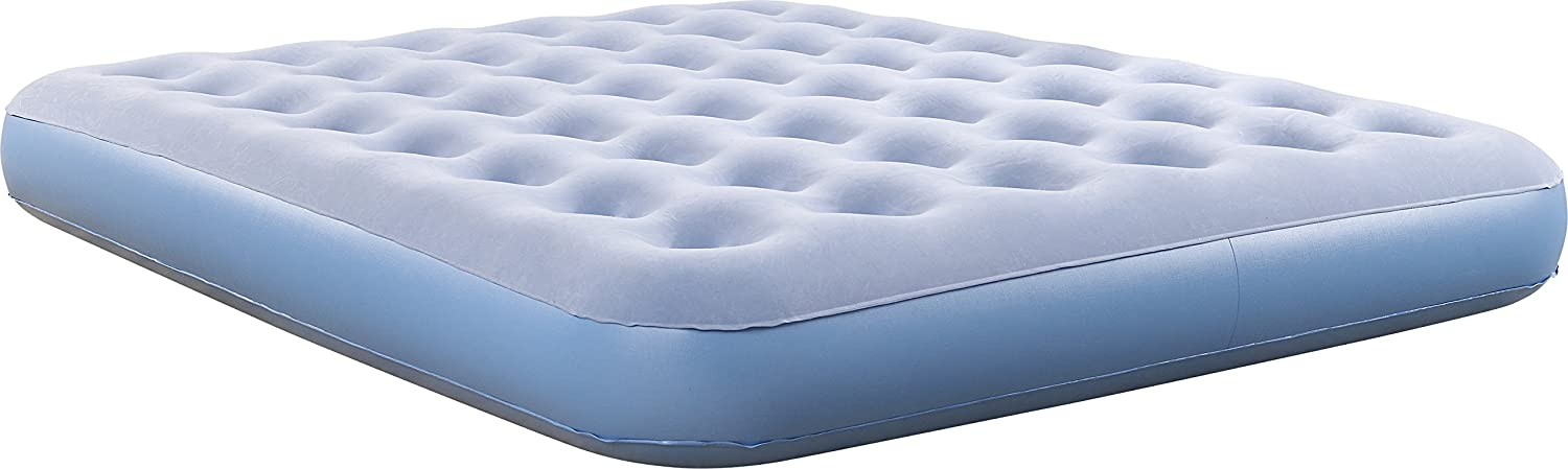 Simmons BeautySleep Smart Inflatable Mattress Low-Profile Air Bed with External Pump Queen HDSDSSMTQN