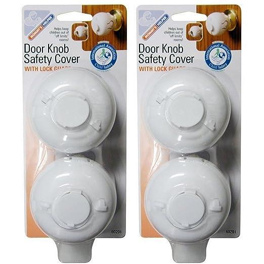 Amazon.com : Mommy's Helper Door Knob Safety Cover : Indoor Safety ...