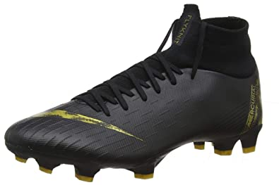 a95d789de Nike Superfly 6 Pro FG Black MTLC Vivid Gold (Men s) (6.5 Men s