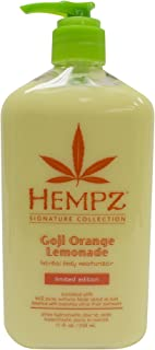 product image for Hempz Goji Orange Lemonade Herbal Body Moisturizer, Signature Collection Limited Edition, 17 fl. oz.