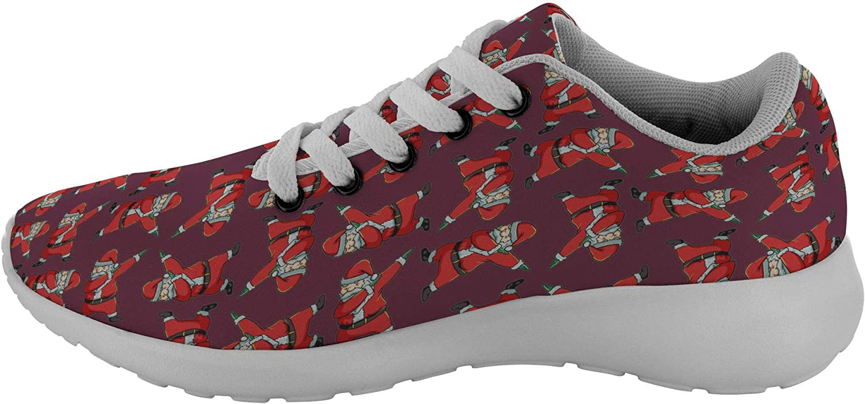 Stocking Stuffer Gifts Santa Dancing Santa Fashion Sneakers Casual Shoes for Men Women
