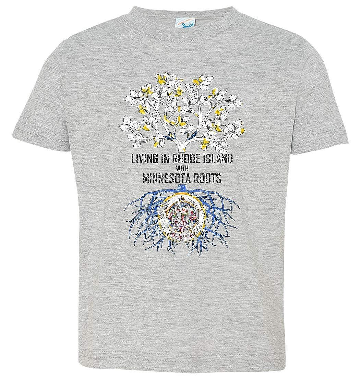 Tenacitee Babys Living in Rhode Island with Minnesota Roots Shirt