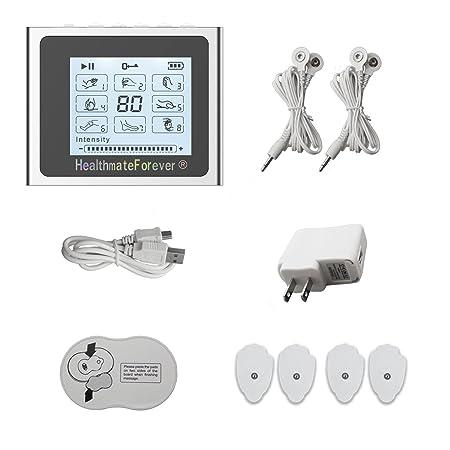 Amazon.com: 8 Modes Portable Pain Relief Electronic Pulse Device ...