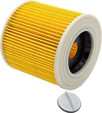 1 Patronenfilter Rundfilter Lamellenfilter für Staubsauger Kärcher A 4000 Plus