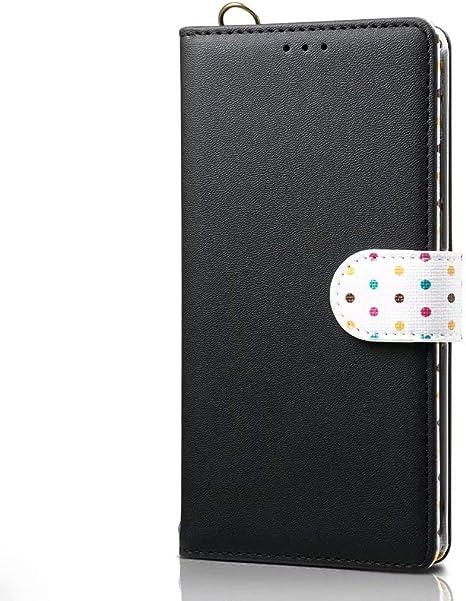 Funda para Samsung Galaxy A71 Funda Libro, Cartera Estuche Antigolpes Golpes de Cuero con Libro de Cuero Flip Case, Carcasa PU Leather con TPU Silicona Case Interna Suave Cierre Magnético negro: Amazon.es: