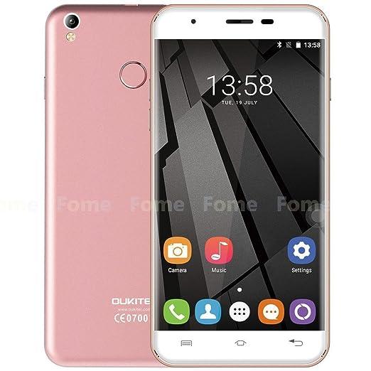 460 opinioni per Oukitel U7 Plus- 5,5 pollici HD Android 6.0 4G smartphone quad-core a 1,3 GHz 2