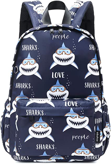 Aom Kids Toddler Little Backpack Cute Cool Dinosaur Waterpool Scool Bookbag Backpac For Boys Girls