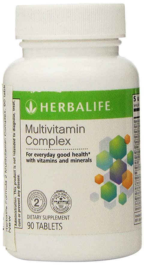 Herbalife Formula 2 Multivitamin Complex, 90 tablets