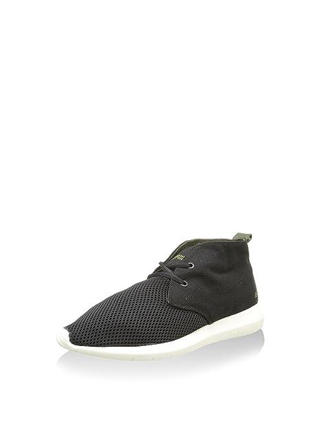 Springfield Zapatillas Abotinadas Negro EU 40: Amazon.es: Zapatos y complementos