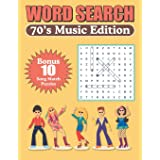 Word Search 70s Music Edition
