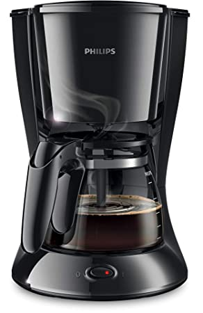 Philips Daily Collection HD7461/20 - Cafetera (Independiente, Cafetera de filtro, 1,2 L, De café molido, 1000 W, Negro): Amazon.es: Hogar