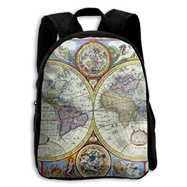 Amazon the childrens vintage geography world map backpack the childrens vintage geography world map backpack gumiabroncs Gallery