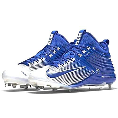 ef7cac595b07 Nike Lunar Trout 2 Metal Baseball Spikes Shoes Blue White Mens Size 9  Buy  Online at Low Prices in India - Amazon.in